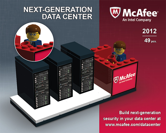 Package Design for McAfee Tradeshow
